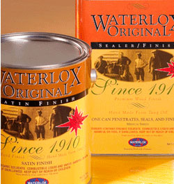 Waterlox fine wood finishes.