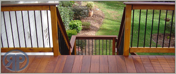 Real wood, vinyl and composite decking and fencing supplies.
