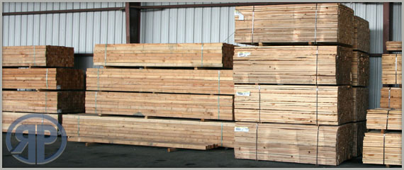 Lumber, nails, hangers and other framing supplies.
